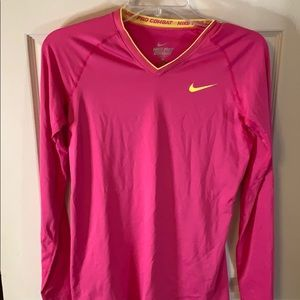 NEW Long sleeve Nike dri-fit workout top